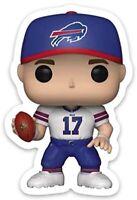 Josh Allen Bobblehead Cartoon Buffalo Bills Player #17 Type DIE-Cut MAGNET