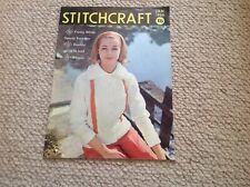 STITCHCRAFT Ladies Vintage Knitting Magazine January 1960