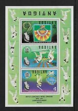 "1972 Antigua: 50th Anniversary of Rising Sun Cricket Club variety ""wmk Inverted"""