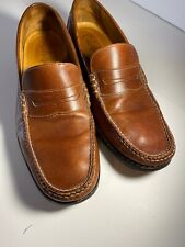 Cole Haan Brown Penny Loafers Mens Dress Formal Size 11 M