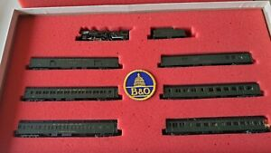 Con-Cor N Scale Baltimore & Ohio 'Capitol Limited' Limited Edition Passenger Set
