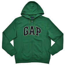 Gap Hoodie Mens Zip Up Jacket Sweatshirt Arch Logo Fleece Lined Xs S M L Xl Xxl
