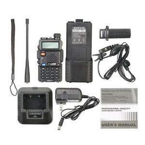 BAOFENG UV-5R Dual Band UHF/VHF Radio Transceiver + 3800mah HIGH Battery