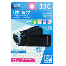 2x Film LCD Screen Display H3 Hard Protection for JVC Camcorder 2.7'' inches
