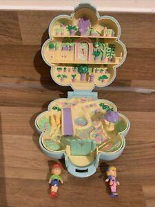 Vintage Polly Pocket Midge's Flower Shop 1990 100% Complete VGC