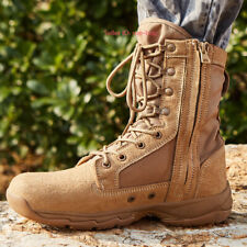 Men Army Military Tactical Work Boots Desert Combat Outdoor SWAT Shoes Climbing