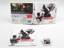 Resident Evil 3 The Mercenaries 3D 3DS Nintendo Complete PAL