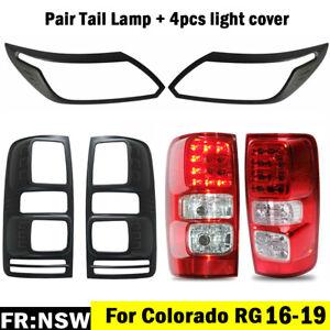 For Holden Colorado RG 16-19 LTZ LS LT Z71 Pair LED Tail Rear Lamp Light + Cover