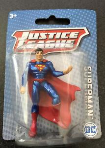 "Justice League DC Comics Superman Mattel 3"" Mini Figure NEW Superheroes"