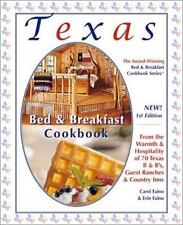 NEW Texas Bed and Breakfast Cookbook Series Hardcover Spiral-Bound Recipes 2005