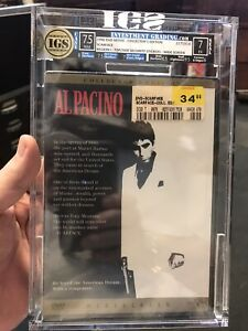 scarface al pacino Rare Graded First Print DVD Before Box Set IGS Graded 7.5/7