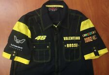 Daring Racewear Vale 46 Valentino Rossi Racing #46 Button Front Shirt XL