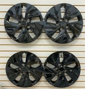"""NEW 16"""" Hubcap Wheelcover for 2019 2020 Nissan ALTIMA Black SET"""