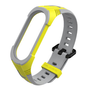 For Xiaomi Mi Band 3 4 5 6 Silicone Wrist Band Bracelet Smart Watch Band Strap