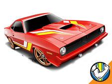Hot Wheels Cars - '70 Plymouth Aar Cuda Red