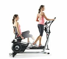 Exercise Elliptical Recumbent Bike Dual Function Great Fitness Training Lumbar