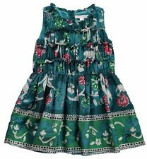 Burberry Kid's Stephie printed sleeveless dress little kid's size 5 yrs
