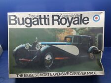 Entex bugatti royale type 41 rare kit