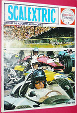 RARE CATALOGUE 1967-1968 SCALEXTRIC MECCANO TRIANG CIRCUIT COURSE AUTOMOBILE