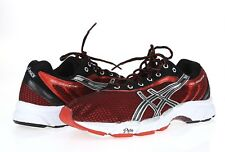 Mens ASICS GEL SPEEDSTAR 226084 black / red athletic sneakers sz. 11.5