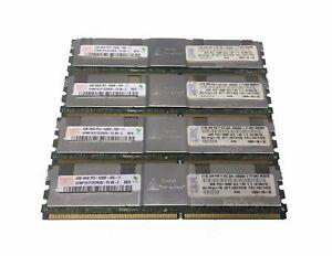 Memory Ram DDR2 PC2 5300F 4RX8 DELL PRECISION 490 670 690 R5400 T5400  2x Lot