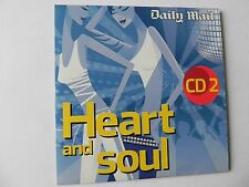 HEART AND SOUL CD2 DIANA ROSS JACKIE WILSON TINA MARVIN GAYE PASADENAS PROMO CD