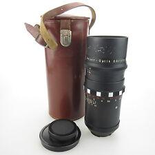 Para Exa Meyer Optik primotar 3.5/135 15 blades objetivamente/lens con Case