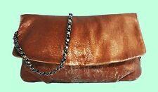 ELIE TAHARI EMORY Cooper Leather Clutch Shoulder Bag Msrp $328 ** SUPER SALE **