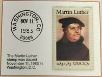 1983 20c The Martin Luther Stamp