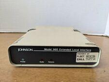 Zetron Johnson Model 960 Extended Local Interface Radio Remote
