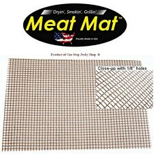Meat Mat - Nonstick Mat, Smoker, Dehydrator, Grill, BBQ, Frogmat 19 in. x 20 in.
