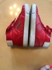 Coogi Red Sneakers High Tops Size 7.5