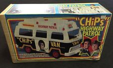 "Vintage Mego Era 1977 ""CHIPS"" Highway Patrol Sealed Van Toy Rare New Old Stock"