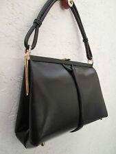 -AUTHENTIQUE sac à main  LOEWE  cuir    (T)BEG vintage bag 60's