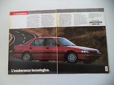 advertising Pubblicità 1988 HONDA ACCORD 2.0 I - 16