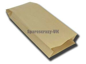 To fit Shopvac Upright Vacuum Cleaner Paper Dust Bag 5 Pack