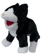 Cat Puppet Ventriloquist.Play.Educational. moving mouth and squeaker