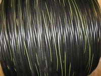 100' Rust 250-250-250-3/0 Aluminum URD Underground Direct Burial Wire 600V