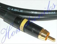 AUDIOPHILE DOLBY DIGITAL 5.1 PHONO (RCA) COAXIAL INTERCONNECT CABLE - 1 METRE