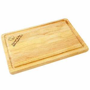 PERSONALISED WOODEN CHOPPING BREAD CHEESE BOARD House Warming,Wedding Gift Idea