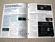 Technics SL-P1300 professional Compact Disc CD player brochure
