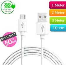 Heavy Duty Long Fast Charge Micro USB Data Sync Phone Charger Cable 2m 3m Lead