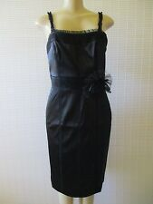 LIBERATED & FREE BLACK SLEEVELESS COCTAIL DRESS SIZE 4 - NEW