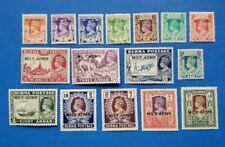 Burma Stamps, Scott 35-50 Complete Set MNH