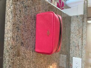 Coach Boxy Cosmetic Case F24797 Fuschia NWT