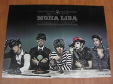 MBLAQ - Mona Lisa [OFFICIAL] POSTER M-BLAQ *NEW* K-POP