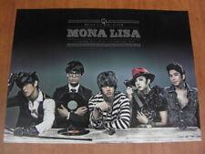 MBLAQ - Mona Lisa [OFFICIAL] POSTER M-BLAQ *NEW* K-POP