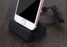 Charging dock, desktop stand charging docking station for iPhone 5, 5s, 6, 6s, 7
