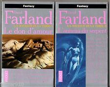 DAVID FARLAND # LA DOULEUR DE LA TERRE 1-2 # DON D'AMOUR/ANNEAU SERPENT # pocket