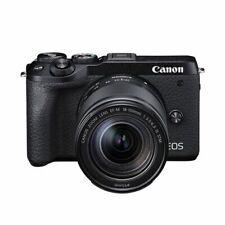 Near Mint! Canon EOS M6 Mark II 18-150mm IS STM Black - 1 year warranty